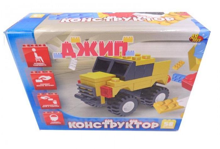 Конструкторы ABtoys Джип 58 элементов