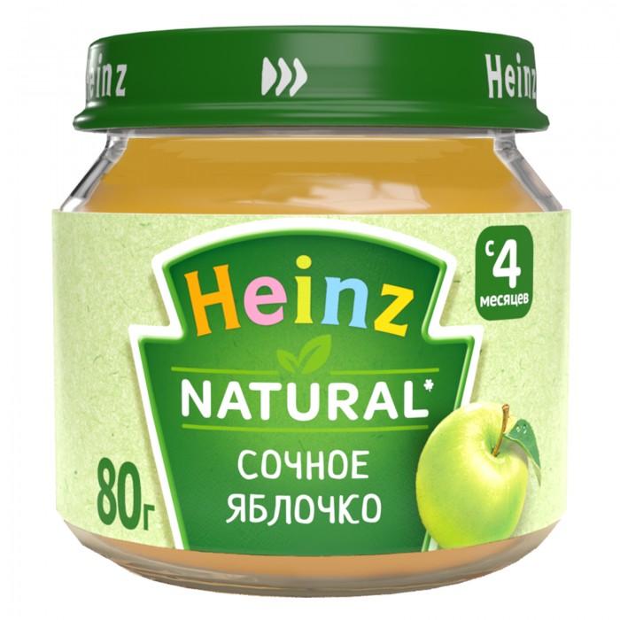 Пюре Heinz Пюре Сочное яблочко с 4 мес., 80 г heinz нежная грушка пюре с 4 мес