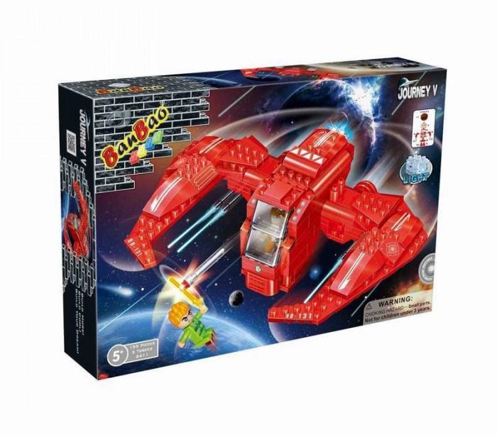 Конструкторы BanBao Космический летательный аппарат 159 элементов banbao конструктор космический летательный аппарат