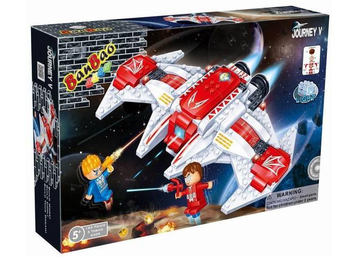 Конструкторы BanBao Космический летательный аппарат 168 элементов banbao конструктор космический летательный аппарат