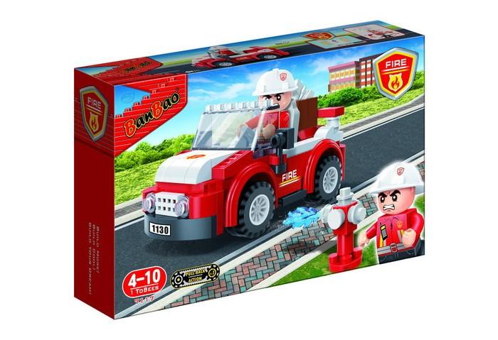 Купить Конструктор BanBao Пожарный внедорожник 110 элементов в интернет магазине. Цены, фото, описания, характеристики, отзывы, обзоры