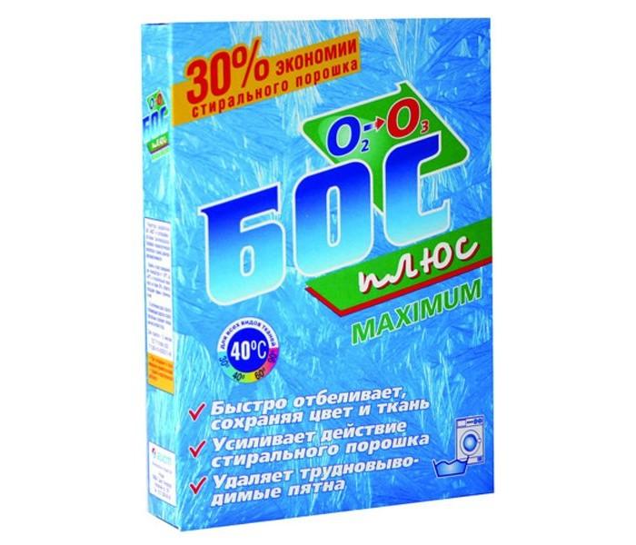 Бытовая химия БОС Отбеливатель кислородосодержащий Мaximim 300 г бытовая химия