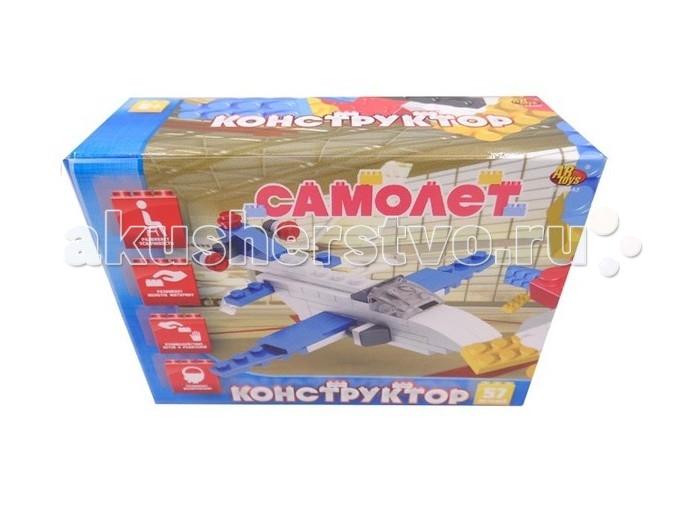 Конструкторы ABtoys Самолет 57 элемента бюсси м самолет без нее
