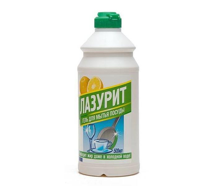 Бытовая химия Лазурит Гель для мытья посуды Грейпфрут 500 мл средство для мытья посуды миф с ароматом лаванды 500 мл