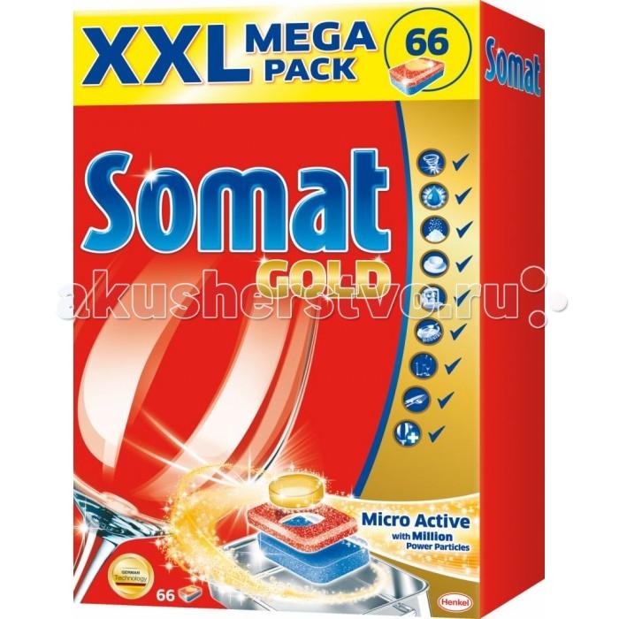 Somat Голд Табс Таблетки для посудомоечной машины 66 шт. от Акушерство