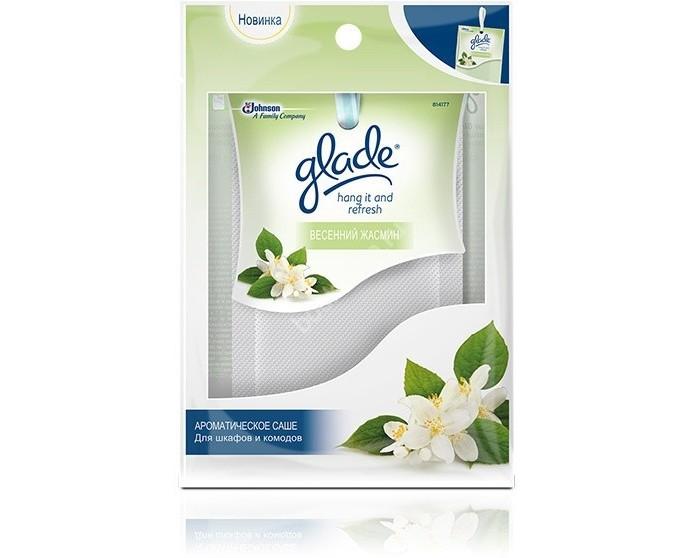 Бытовая химия Glade Hang It Fresh Весенний жасмин ароматическое саше 8 г х 12 эубикор маска сухая для лица кора дуба 4 0 8 саше