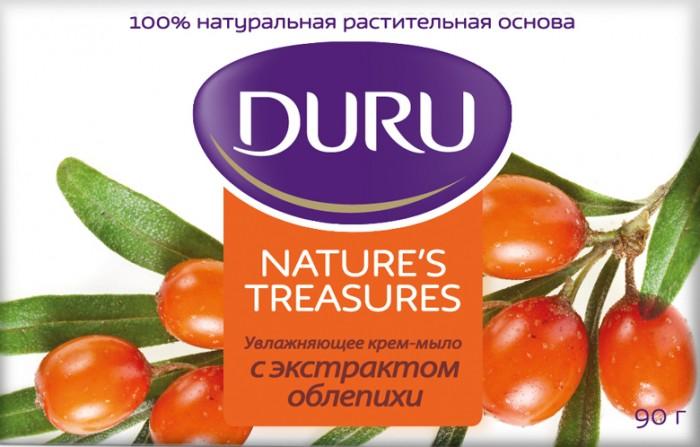 Косметика для мамы Duru Natural Treas Мыло Облепиха 90 г