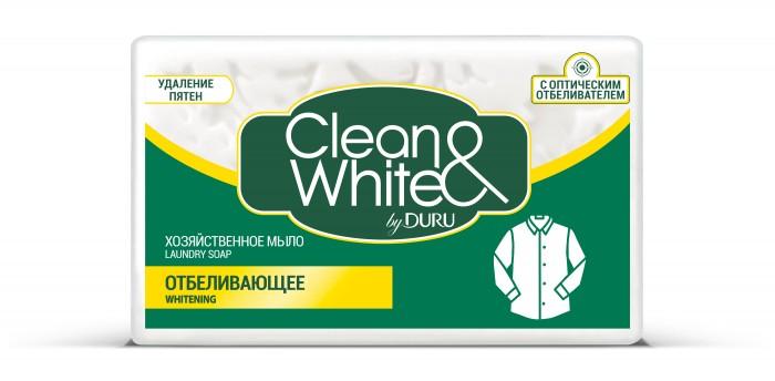 Бытовая химия Duru Clean & White Мыло Хозяйственное Отбеливающее 125 г