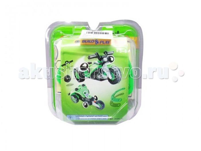 Конструкторы Shantou Gepai 2 в 1 Build & Play - Мотоцикл 40 элементов shantou gepai компьютер русско английский 40 функции 7398