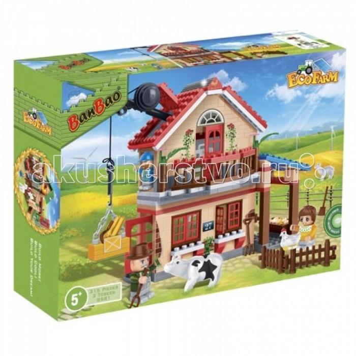 Конструкторы BanBao Фермерский домик 315 элементов