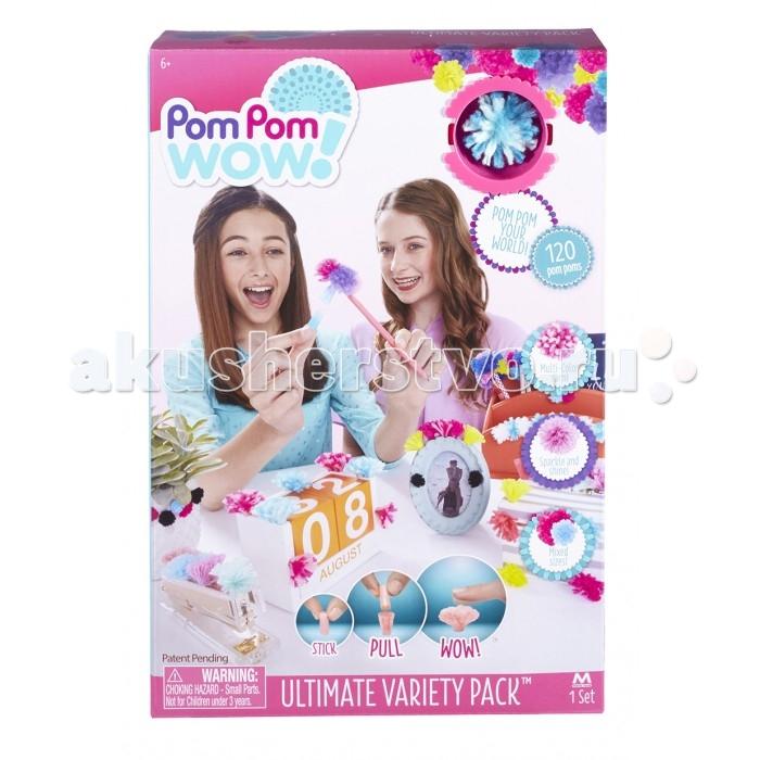 Наборы для творчества Pom Pom Wow Набор для творчества Добавь разнообразие набор для творчества creative creative набор для творчества гелевые свечи