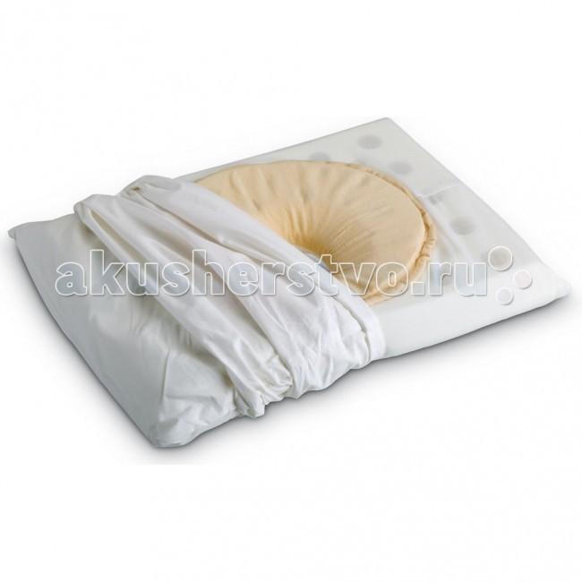 Jane Подушка эргономическая 50206Подушка эргономическая 50206Эргономичная подушка для кроватки и коляски Jane просто незаменима для новорожденного малыша. Она не только обеспечит ребенку комфорт во время сна и отдыха, но и защитит малыша от удушения и плагиофцефалии. Подушка идеально подходит для использования как в кроватке, так и коляске. Изделие выполнено из гипоаллергенных материалов, мягких и приятных на ощупь.   Противоудушливая Предотвращает плагиоцефалию Антибактериальная Дышащая  Форма 1: Предотвращает плагиоцефалию.  Когда младенец спит на одной стороне больше, чем на другой стороне, голова ребенка может стать несимметричной, специальная центральная форма подушки обеспечивает защиту и подвижность головы ребенка.  Форма 2: Противоудушливая. Позволяет ребенку дышать правильно благодаря специальной перфорированной внутренней пене, которая  обеспечивает циркуляцию воздуха и улучшает дыхание.  - Мягкий, гипоаллергенный материал - Состав подушки: вязкоупругая пена с эффектом памяти - Внутренняя наволочка большой подушки: 90% полиэстер, 10%  хлопок - Наволочка внешняя и наволочка маленькой подушки: 100% хлопок - Размеры большой подушки длина 35см, ширина 24см, высота 4см - Размеры маленькой подушки 21 x 19 см<br>
