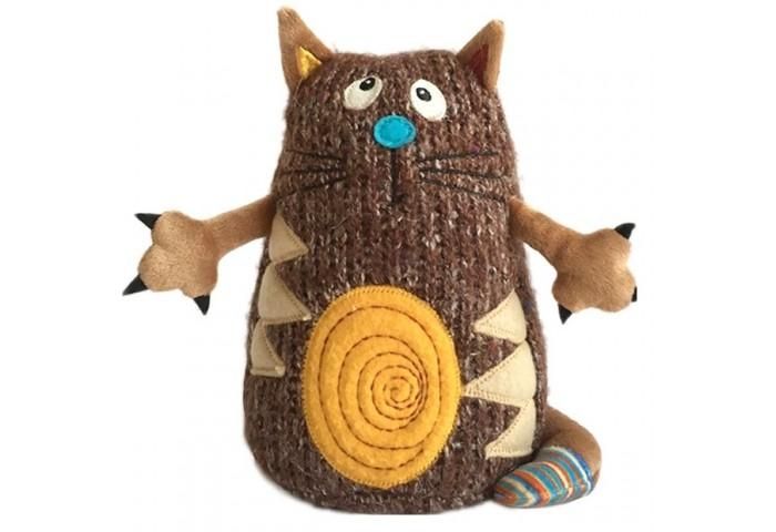 Мягкие игрушки Gulliver Кот Котейка 15 см коричневый игрушка мягкая gulliver мишутка пуффи 30см