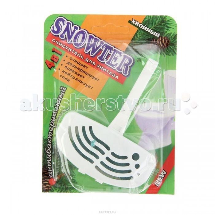 Бытовая химия Snowter Очиститель для унитазов Хвоя для унитаза в пластиковом контейнере 40 г очиститель для унитаза snowter запасной блок лимон 40 г