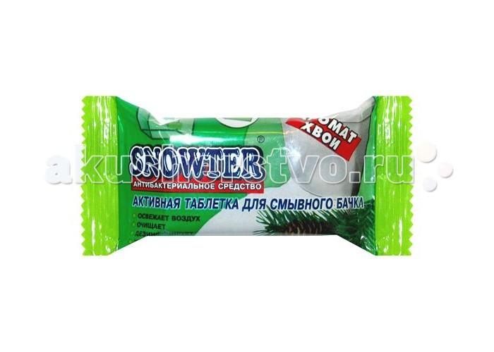 Бытовая химия Snowter Очиститель для унитазов Хвоя таблетка для смывного бачка 50 г бытовая химия snowter очиститель для унитазов хвоя свежесть запасной блок подвеска 40 г