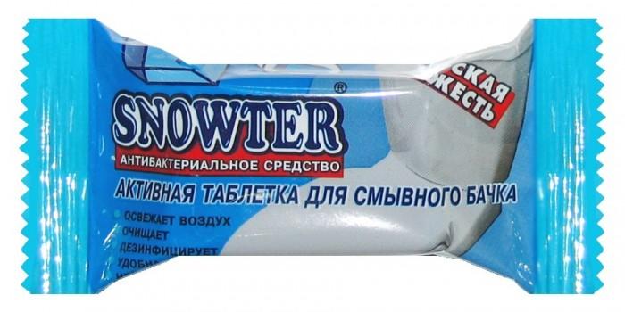 Бытовая химия Snowter Очиститель для унитазов Морская свежесть таблетка для смывного бачка 50 г бытовая химия snowter очиститель для унитазов хвоя свежесть запасной блок подвеска 40 г