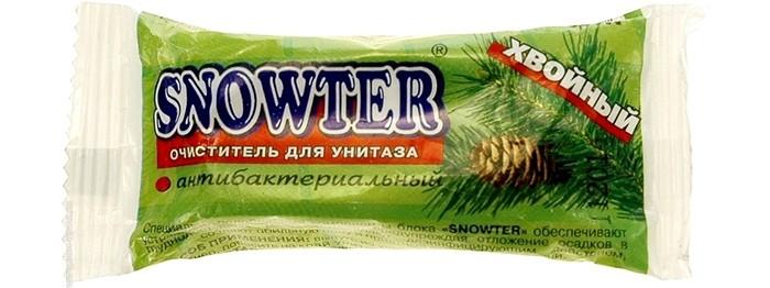 Бытовая химия Snowter Очиститель для унитазов Хвоя свежесть запасной блок подвеска 40 г snowter