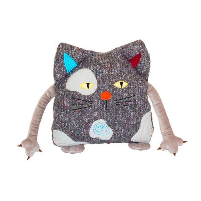 Мягкие игрушки Gulliver Кот Котейка 25 см подушка оранжевый кот подушка игрушка антистресс кот спортсмен