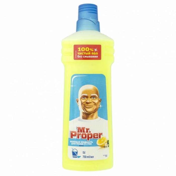 Бытовая химия Mr. Proper Средство для полов Лимон 750 мл средство для очистки полов astonish океан 750 мл