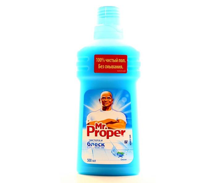 Бытовая химия Mr. Proper Средство для полов Океанская свежесть 500 мл жидкость моющая для полов и стен mr proper лавандовое спокойствие 500 мл