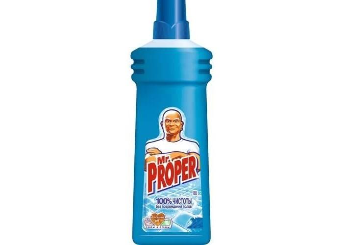 Бытовая химия Mr. Proper Средство для полов Океанская свежесть 750 мл a proper drink
