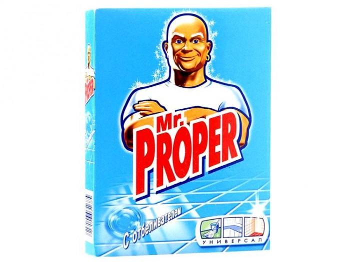 Бытовая химия Mr. Proper Чистящий порошок с отбеливателем 400 г порошок моющий для полов и стен mr proper с отбеливателем 400 г
