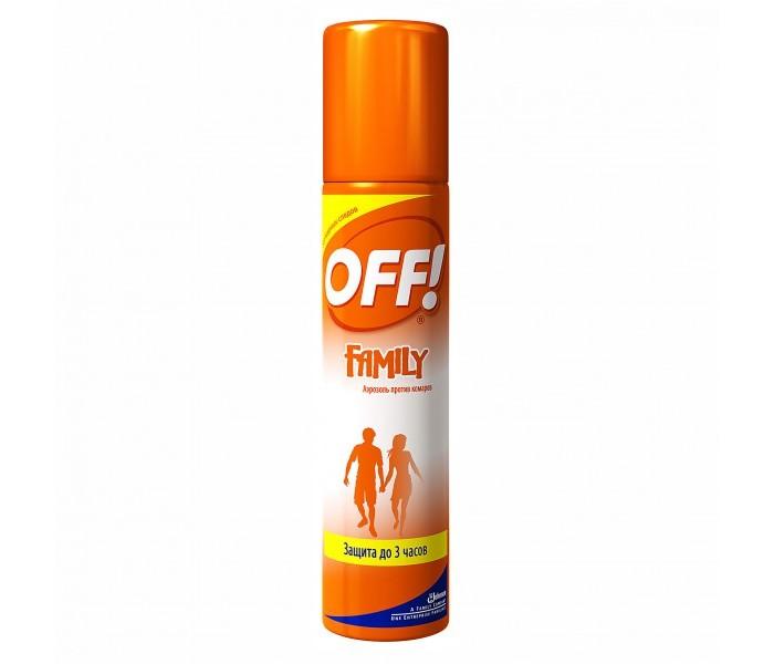 Купить Off Средство от комаров Фэмили аэрозоль 100 мл в интернет магазине. Цены, фото, описания, характеристики, отзывы, обзоры