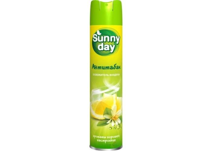 Бытовая химия Sunny Day Антитабак освежитель воздуха 300 мл