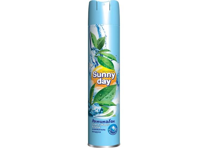 Бытовая химия Sunny Day Освежитель воздуха Антитабак*12 300 мл