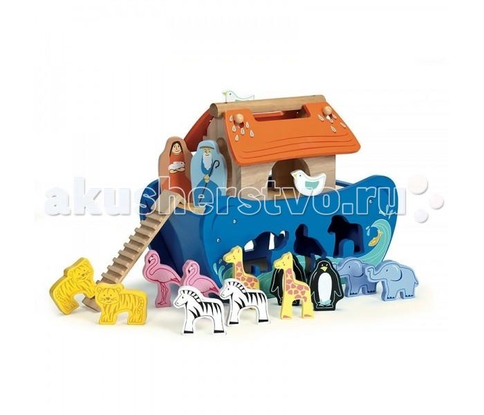 Игровые наборы LeToyVan Игровой набор Ковчег игрушка для животных каскад удочка с микки маусом 47 см