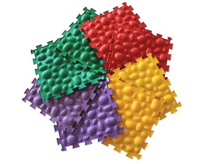 Игровые коврики Орто Пазл Модульный массажный Морские камни