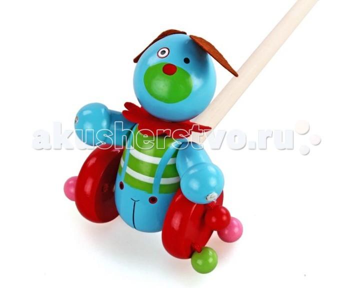 Каталка-игрушка Mapacha Каталка Веселый щенок