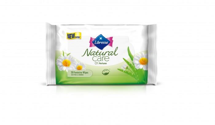 Гигиена для мамы Libresse Гигиенические прокладки Natural Care 20 шт. гигиена для мамы libresse ежедневные прокладки natural care normal 20 шт