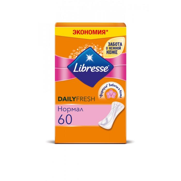 Гигиена для мамы Libresse Ежедневные прокладки Dailyfresh Normal 60 шт. либресс дэйлифреш нормал прокладки ежедневные ультратонкие 20 штук libresse dailyfresh normal