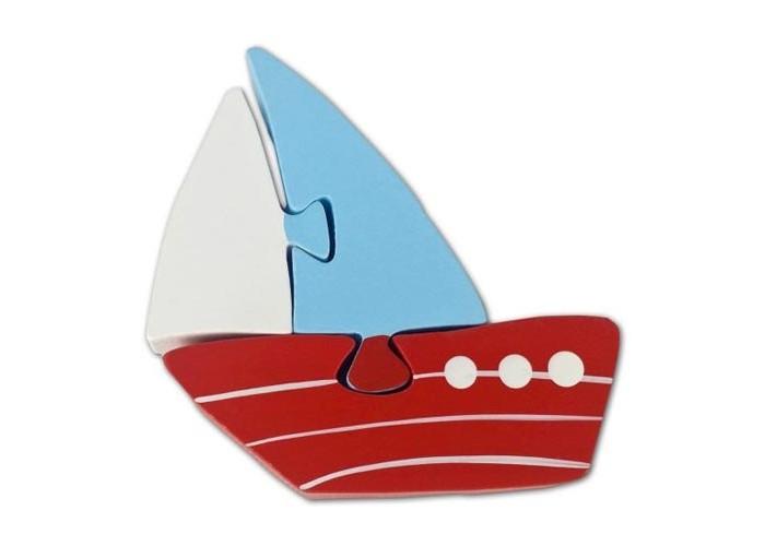 Деревянные игрушки Mapacha Пазл Кораблик