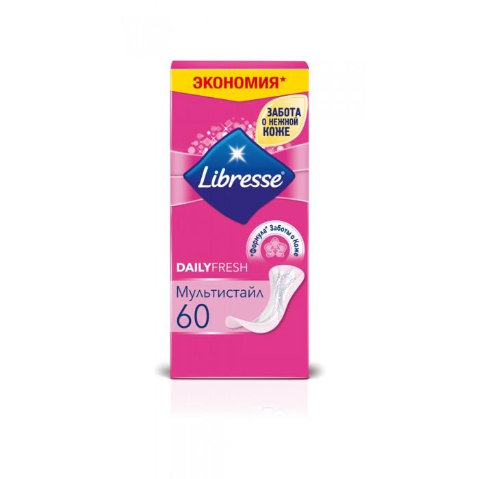 Гигиена для мамы Libresse Ежедневные прокладки Dailyfresh Plus Multistyle 60 шт прокладки клапанной крышки honda vtr1000f