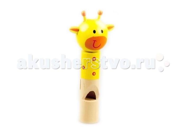Музыкальные игрушки Mapacha Свистулька Жирафик музыкальные игрушки русская народная игрушка рни свистулька птичка