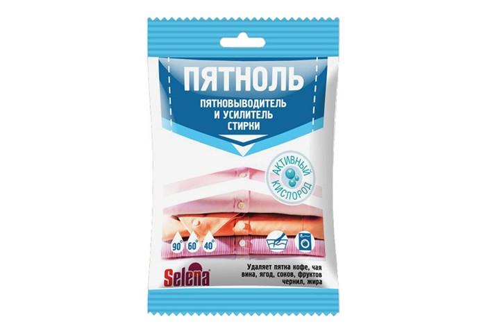 Бытовая химия Selena Пятноль усилитель стирки 63 г поглотитель запаха для холодильников selena
