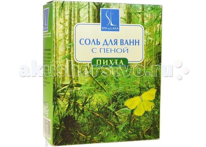 Соли и травы для купания Linstek Laboratory Фито-соль Пихта с пеной 500 г ракушка соль фито ламинария 630 гр 930753