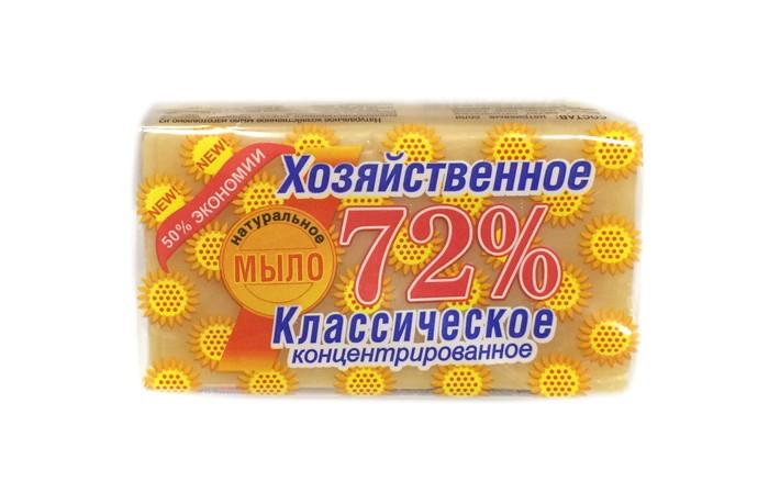 Бытовая химия Аист Хозяйственное мыло 72% 150 г мыло аист 2 в 1 антипятин 150 гр 932241