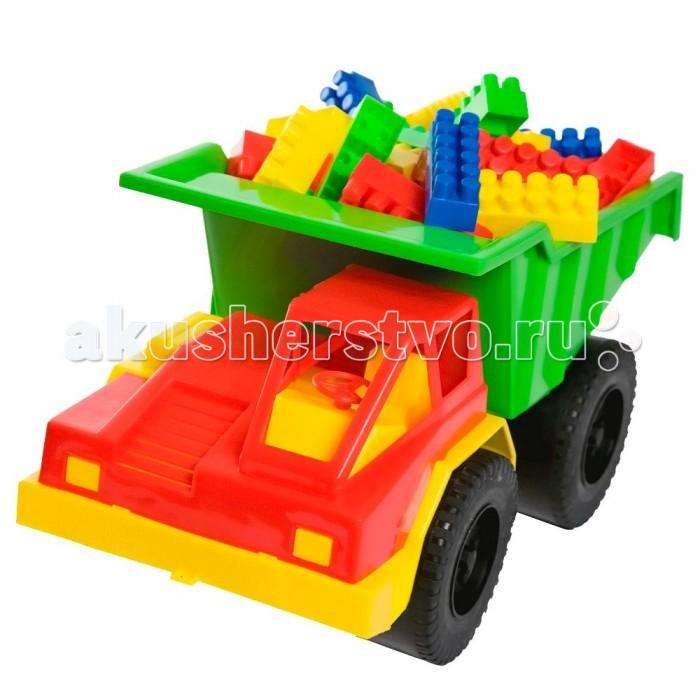 Игрушки для зимы Кассон Набор для песочницы Грузовик карьерный Комби Блок кассон комби блок 500 деталей