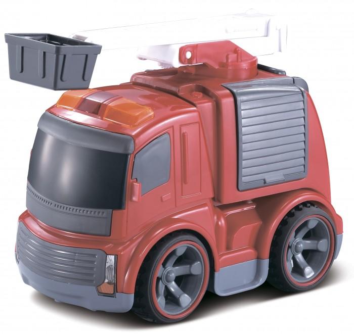 Машины Taiko Zoom! Пожарная машина с вышкой радиоуправляемая пламенный мотор машинка инерционная volvo пожарная охрана