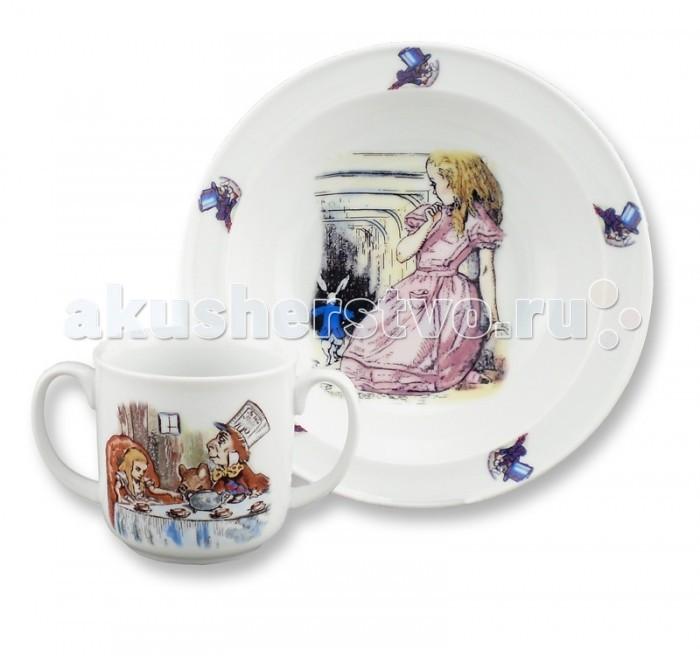 Reutter Porzellan Набор детской посуды Алиса в стране чудес 2 предмета