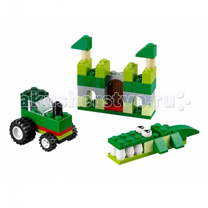 Lego Lego Classic Зелёный набор для творчества classic world классический самолет 27 деталей