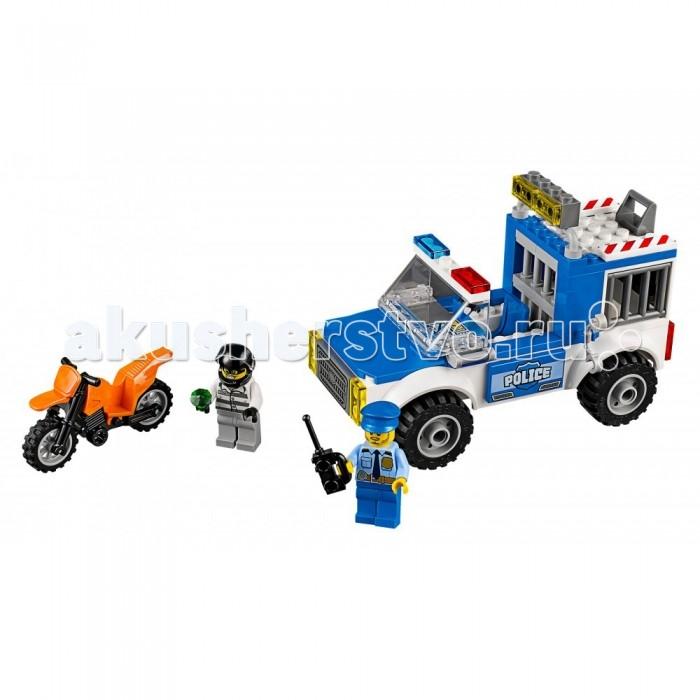 Lego Lego Juniors Погоня на полицейском грузовике конструктор lego juniors 10720 погоня на полицейском вертолёте
