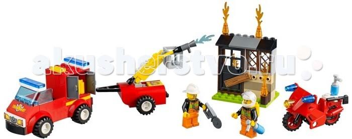 Lego Lego Juniors Чемоданчик Пожарная команда lego горный внедорожник 70589