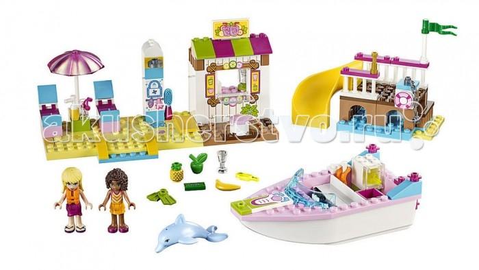 lego lego juniors 10673 ралли на гоночных автомобилях Lego Lego Juniors День на пляже с Андреа и Стефани