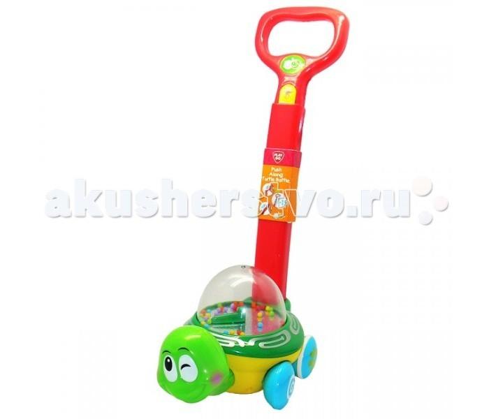 Каталки-игрушки Playgo Черепаха с ручкой каталки playgo каталка телефон