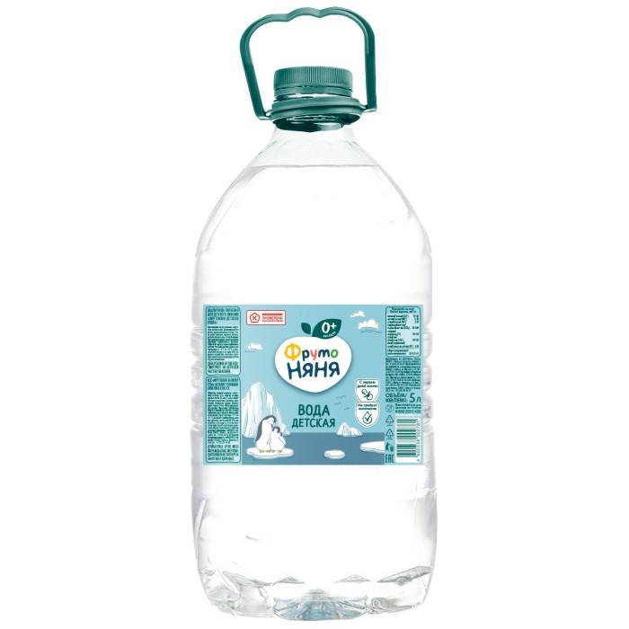 Вода ФрутоНяня Вода детская питьевая с 0 мес., 5 л вода о без газа 0 6 л 12шт
