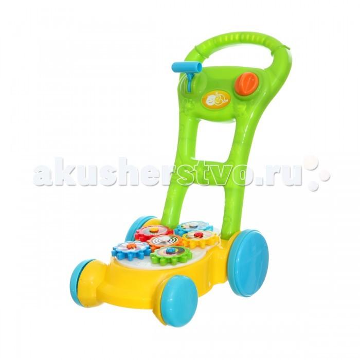 Ходунки Playgo Каталка с шестеренками каталки playgo каталка телефон